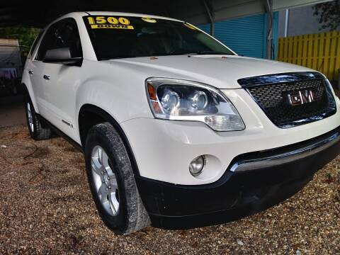 2008 GMC Acadia for sale at AFFORDABLE AUTO SALES OF STUART in Stuart FL