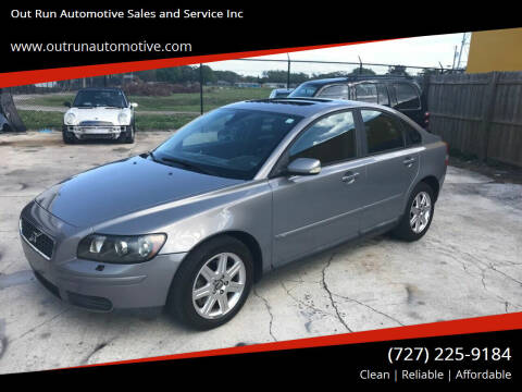 2006 Volvo S40 for sale at Out Run Automotive Sales and Service Inc in Tampa FL