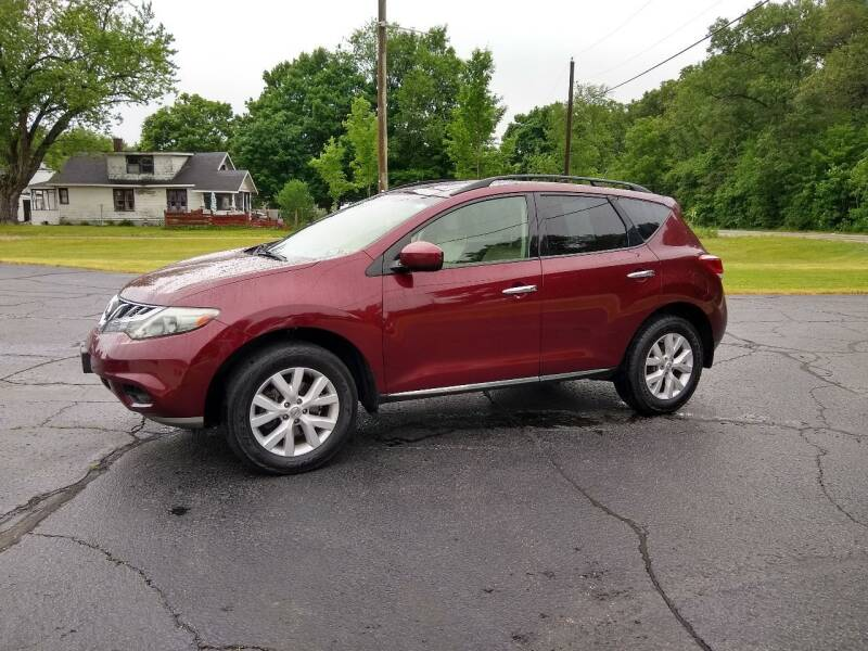 2012 Nissan Murano for sale at Depue Auto Sales Inc in Paw Paw MI