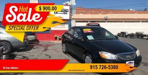 2008 Kia Spectra for sale at Os'Cars Motors in El Paso TX