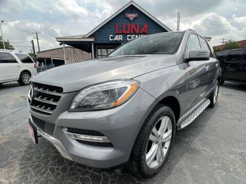 2013 Mercedes-Benz M-Class for sale at LUNA CAR CENTER in San Antonio TX