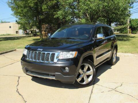 2012 Jeep Grand Cherokee for sale at A & R Auto Sale in Sterling Heights MI