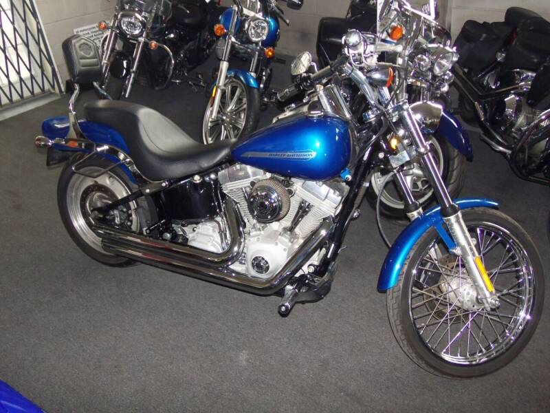 2007 Harley-Davidson FXST SOFTAIL for sale at Fulmer Auto Cycle Sales - Fulmer Auto Sales in Easton PA