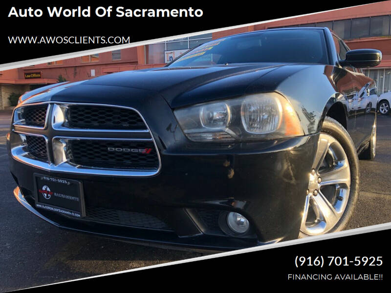 2012 Dodge Charger for sale at Auto World of Sacramento Stockton Blvd in Sacramento CA