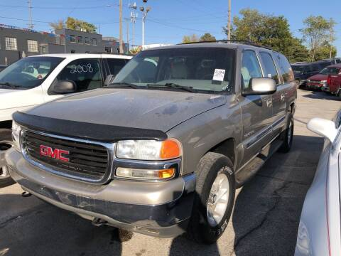 2001 GMC Yukon XL for sale at Sonny Gerber Auto Sales in Omaha NE