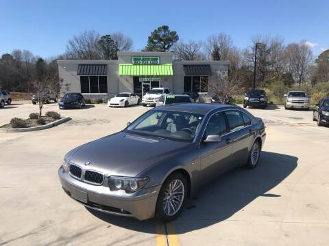 2004 BMW 7 Series for sale at Cross Motor Group in Rock Hill SC