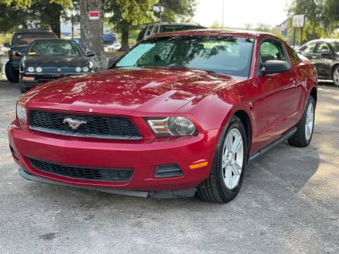 2011 Ford Mustang for sale at Atlantic Auto Sales in Garner NC