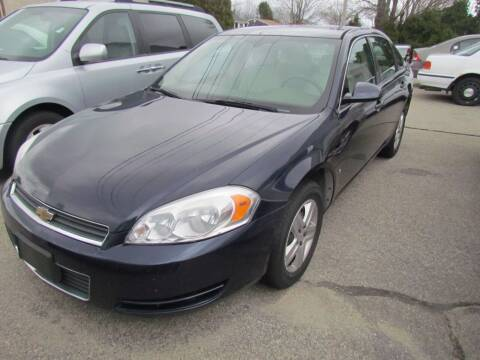 2008 Chevrolet Impala for sale at Portsmouth Auto Sales & Repair in Portsmouth RI