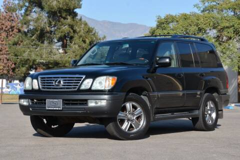 2007 Lexus LX 470 for sale at Milpas Motors in Santa Barbara CA