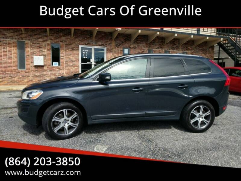 2012 Volvo XC60 for sale at Budget Cars Of Greenville in Greenville SC