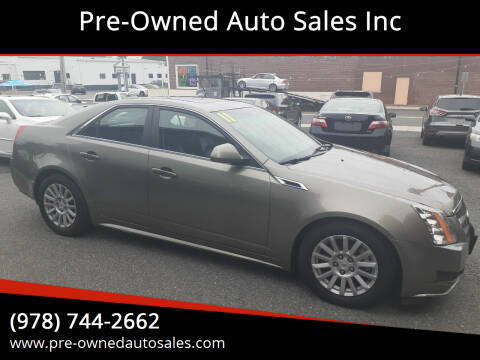 2011 Cadillac CTS for sale at Pre-Owned Auto Sales Inc in Salem MA
