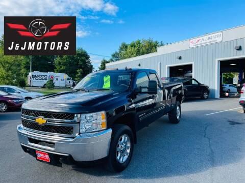 2013 Chevrolet Silverado 2500HD for sale at J & J MOTORS in New Milford CT