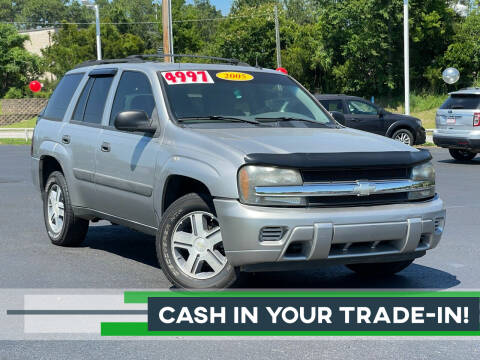 2005 Chevrolet TrailBlazer for sale at Rock 'n Roll Auto Sales in West Columbia SC