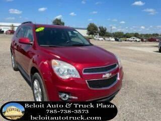 2012 Chevrolet Equinox for sale at BELOIT AUTO & TRUCK PLAZA INC in Beloit KS