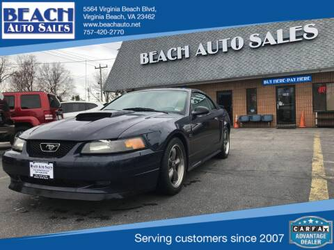 2003 Ford Mustang for sale at Beach Auto Sales in Virginia Beach VA