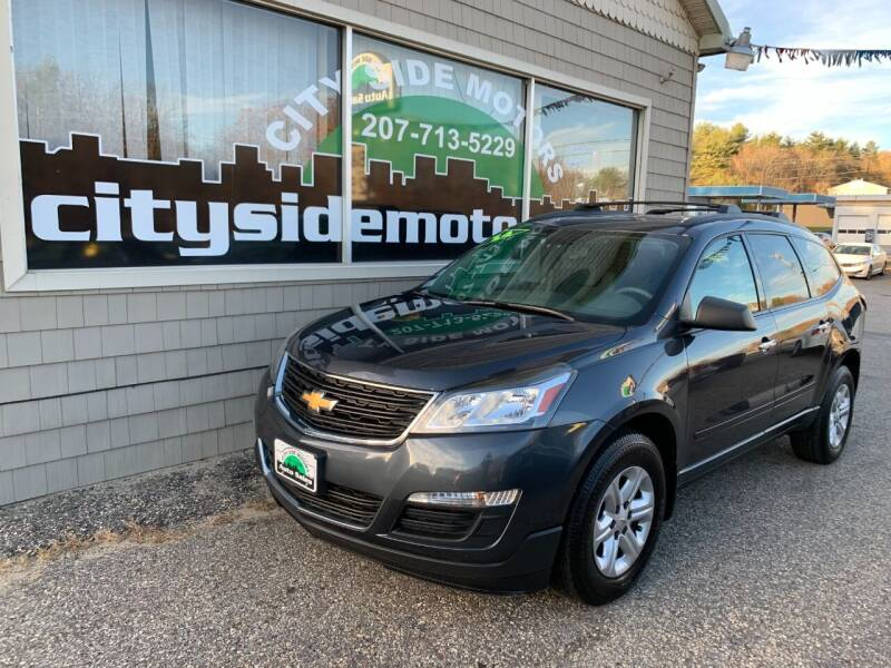 2014 Chevrolet Traverse for sale at CITY SIDE MOTORS in Auburn ME