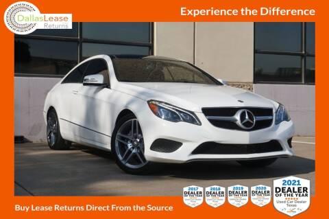 2014 Mercedes-Benz E-Class for sale at Dallas Auto Finance in Dallas TX