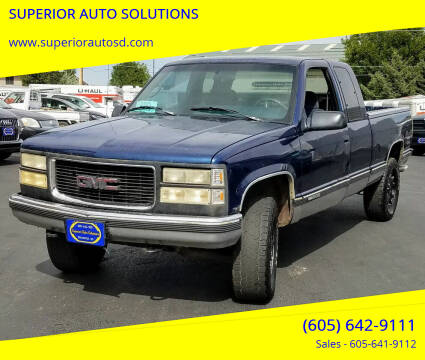 1995 GMC Sierra 1500 for sale at SUPERIOR AUTO SOLUTIONS in Spearfish SD