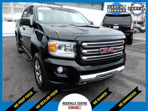 2017 GMC Canyon for sale at Rockville Centre GMC in Rockville Centre NY