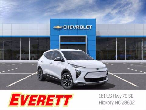 2022 Chevrolet Bolt EUV for sale at Everett Chevrolet Buick GMC in Hickory NC