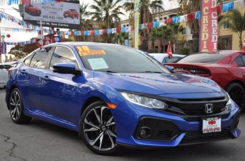 2018 Honda Civic for sale at AMC Auto Sales, Inc in San Jose CA