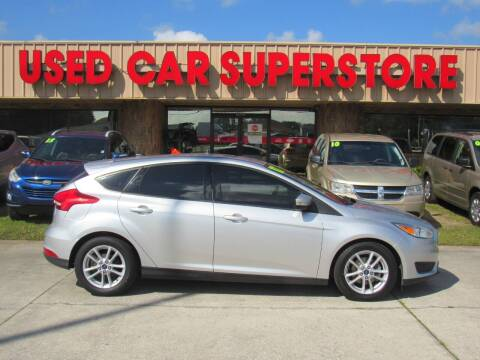 2017 Ford Focus for sale at Checkered Flag Auto Sales NORTH in Lakeland FL