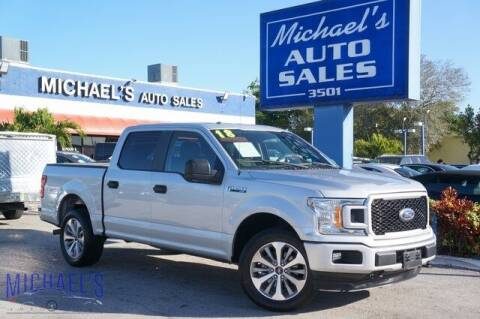 2018 Ford F-150 for sale at Michael's Auto Sales Corp in Hollywood FL