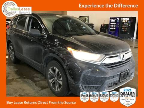 2017 Honda CR-V for sale at Dallas Auto Finance in Dallas TX