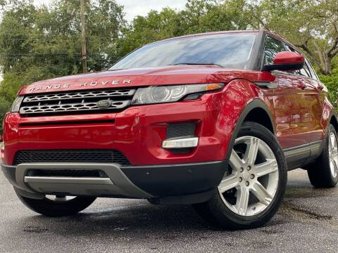 2015 Land Rover Range Rover Evoque for sale at HIGH PERFORMANCE MOTORS in Hollywood FL