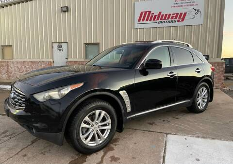 2009 Infiniti FX35 for sale at Midway Motors in Conway AR