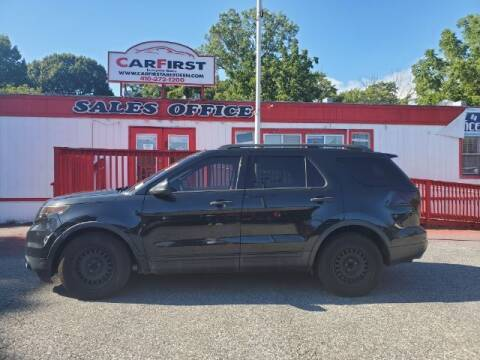 2014 Ford Explorer for sale at CARFIRST ABERDEEN in Aberdeen MD