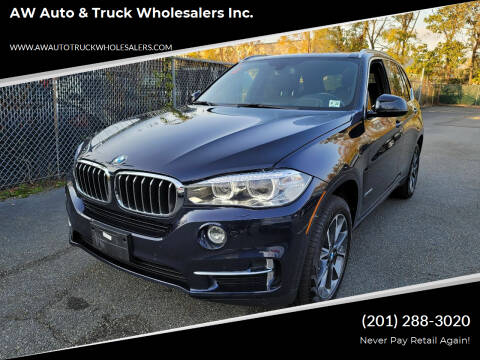 2017 BMW X5 for sale at AW Auto & Truck Wholesalers  Inc. in Hasbrouck Heights NJ