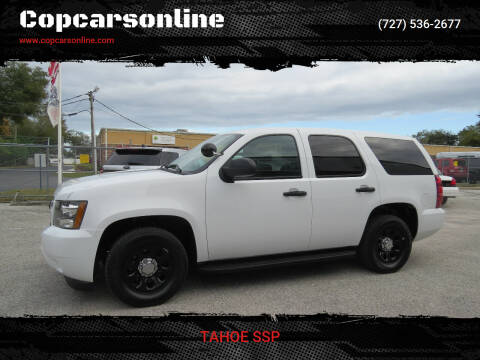2014 Chevrolet Tahoe for sale at Copcarsonline in Largo FL