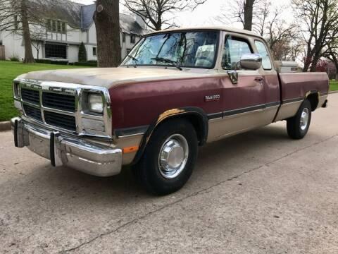 1992 Dodge RAM 250 for sale at A Motors in Tulsa OK