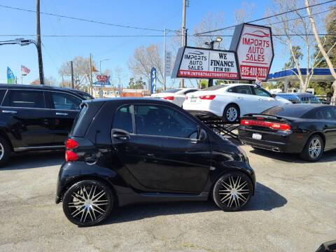 2008 Smart fortwo for sale at Imports Auto Sales & Service in San Leandro CA