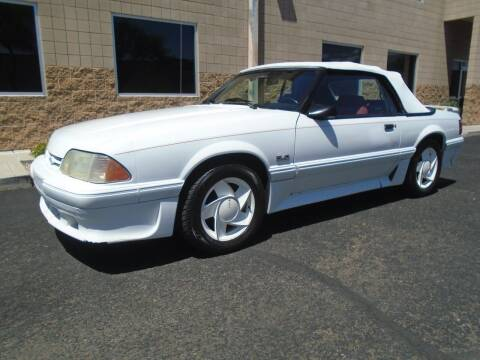 1988 Ford Mustang for sale at COPPER STATE MOTORSPORTS in Phoenix AZ