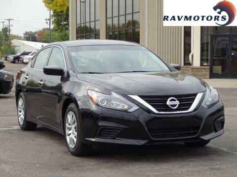 2017 Nissan Altima for sale at RAVMOTORS 2 in Crystal MN