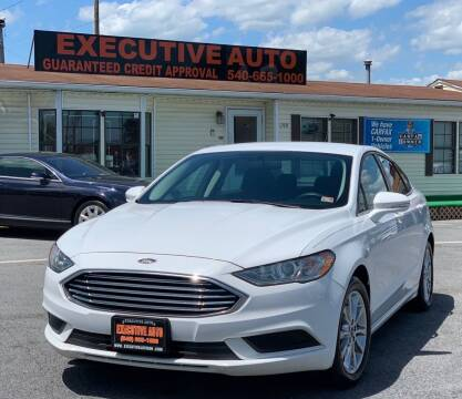 2017 Ford Fusion for sale at Executive Auto in Winchester VA