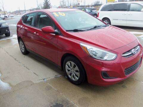 2017 Hyundai Accent for sale at Michigan Auto Mart in Port Huron MI