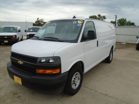 2019 Chevrolet Express Cargo for sale at BAS MOTORS in Houston TX