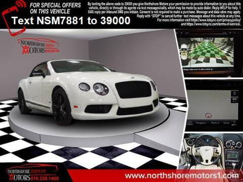 2015 Bentley Continental for sale at Sunrise Auto Outlet in Amityville NY