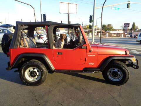 1999 Jeep Wrangler for sale at Pauls Auto in Whittier CA