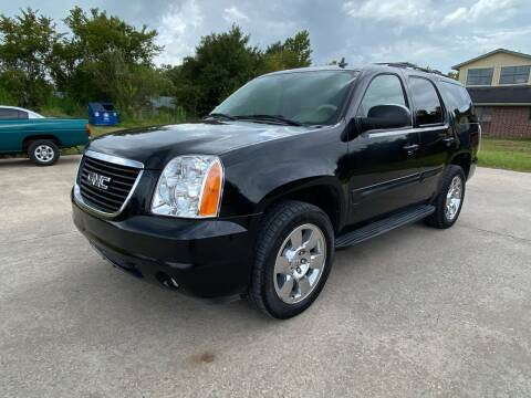 2008 GMC Yukon for sale at RODRIGUEZ MOTORS CO. in Houston TX