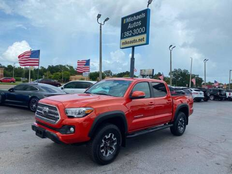 2017 Toyota Tacoma for sale at Michaels Autos in Orlando FL