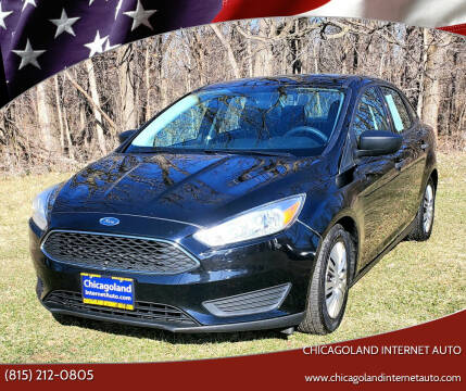 2016 Ford Focus for sale at Chicagoland Internet Auto - 410 N Vine St New Lenox IL, 60451 in New Lenox IL