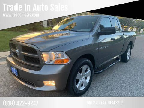 2012 RAM Ram Pickup 1500 for sale at Trade In Auto Sales in Van Nuys CA