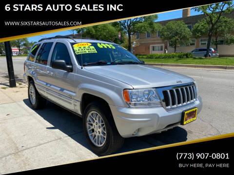 2004 Jeep Grand Cherokee for sale at 6 STARS AUTO SALES INC in Chicago IL