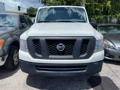 2013 Nissan NV Cargo for sale at INTERNATIONAL AUTO BROKERS INC in Hollywood FL