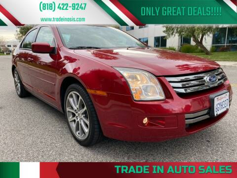 2009 Ford Fusion for sale at Trade In Auto Sales in Van Nuys CA