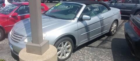 2008 Chrysler Sebring for sale at Arak Auto Group in Bourbonnais IL